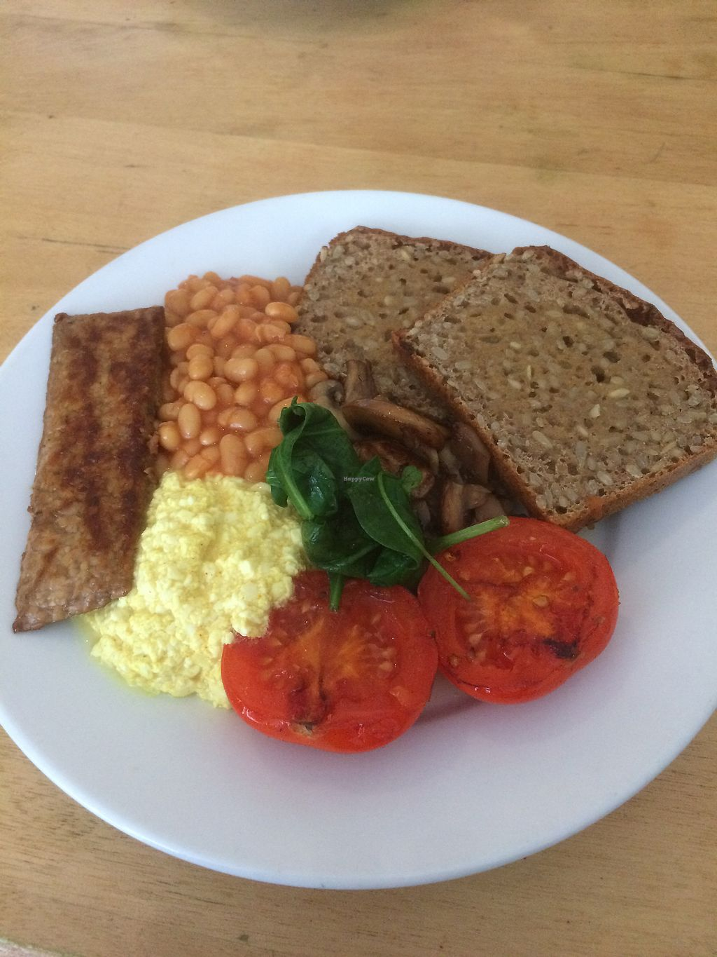 """Photo of Cafe Gratitude  by <a href=""""/members/profile/SophieRiches-Magnier"""">SophieRiches-Magnier</a> <br/>Full monty vegan breakfast <br/> December 22, 2017  - <a href='/contact/abuse/image/77075/338069'>Report</a>"""