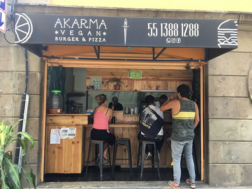 "Photo of Akarma Vegan  by <a href=""/members/profile/PaulaTemple"">PaulaTemple</a> <br/>take out stall <br/> August 1, 2017  - <a href='/contact/abuse/image/77099/287463'>Report</a>"