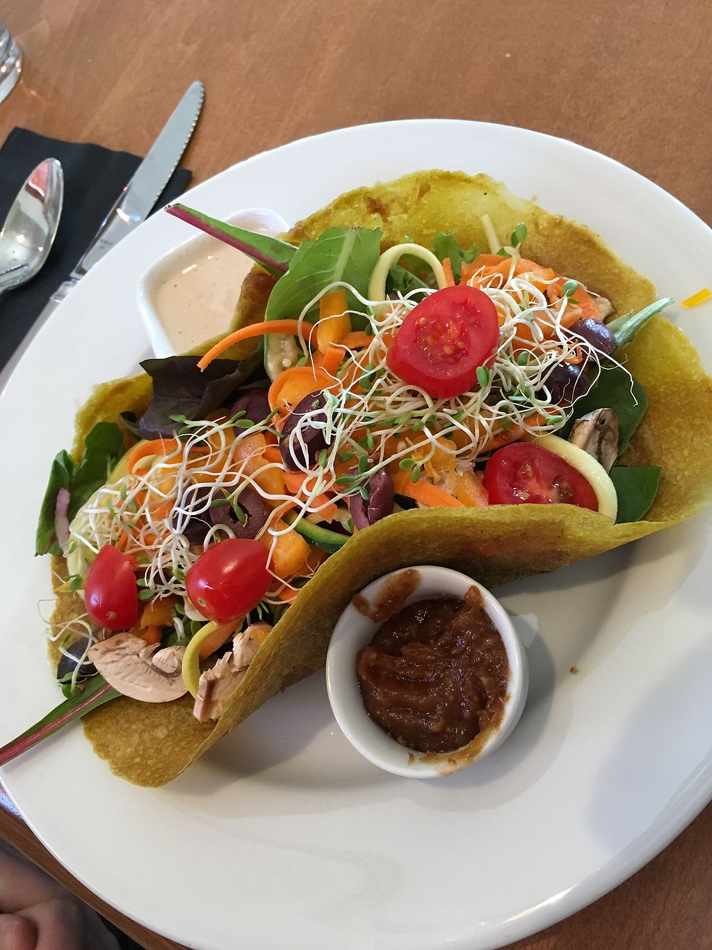 """Photo of Vibrance  by <a href=""""/members/profile/s7345565"""">s7345565</a> <br/>veggie wrap <br/> June 30, 2017  - <a href='/contact/abuse/image/77106/275231'>Report</a>"""