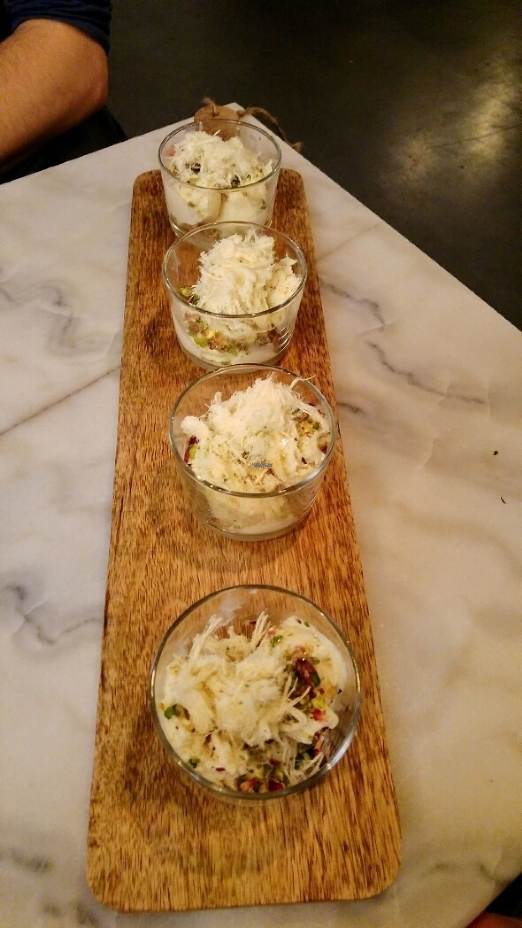 """Photo of Hummus  by <a href=""""/members/profile/Jannetje"""">Jannetje</a> <br/>Delicious soya-icecream with pistachio and """"engelenhaar"""" (hair of an angel)  <br/> February 27, 2017  - <a href='/contact/abuse/image/77109/230987'>Report</a>"""
