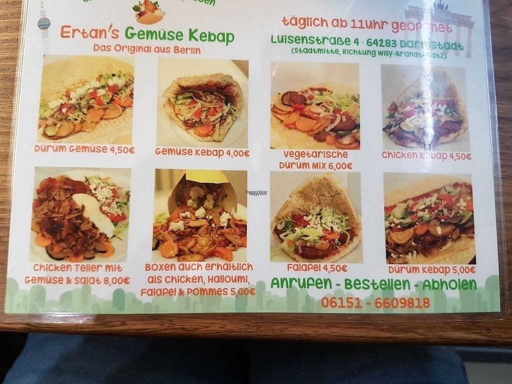 """Photo of Ertan's Gemuse Kebap  by <a href=""""/members/profile/vanessa7848"""">vanessa7848</a> <br/>menu2 <br/> March 12, 2017  - <a href='/contact/abuse/image/77112/235551'>Report</a>"""