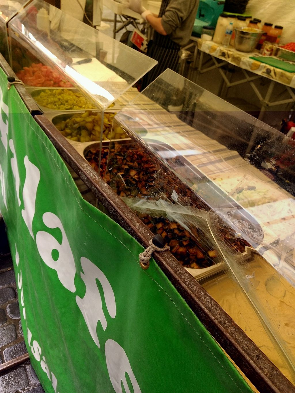 """Photo of Jerusalem Falafel - Food Stall  by <a href=""""/members/profile/craigmc"""">craigmc</a> <br/>salad <br/> October 19, 2017  - <a href='/contact/abuse/image/77117/316568'>Report</a>"""