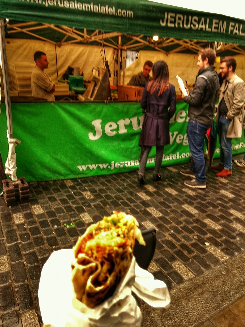 """Photo of Jerusalem Falafel - Food Stall  by <a href=""""/members/profile/craigmc"""">craigmc</a> <br/>yum <br/> October 19, 2017  - <a href='/contact/abuse/image/77117/316571'>Report</a>"""