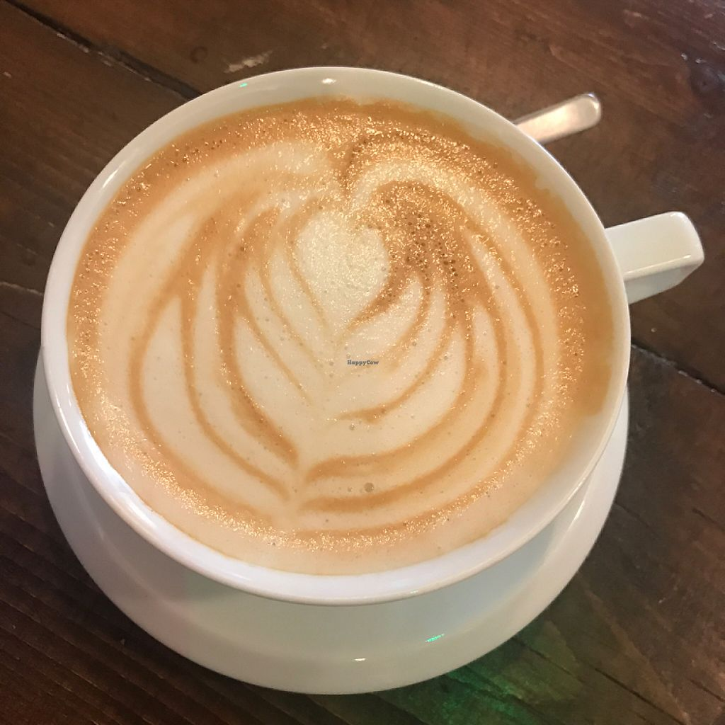"Photo of Cartwheel Coffee  by <a href=""/members/profile/The%20London%20Vegan"">The London Vegan</a> <br/>oat milk latte <br/> May 21, 2017  - <a href='/contact/abuse/image/77122/260945'>Report</a>"