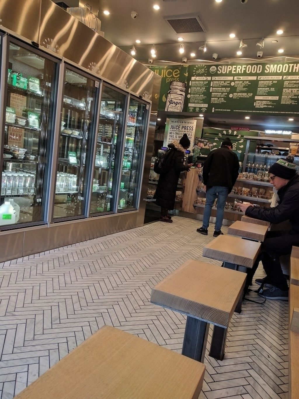 """Photo of Juice Press - Midtown East  by <a href=""""/members/profile/Tkmycall"""">Tkmycall</a> <br/>Vegan Raw Heaven <br/> January 14, 2017  - <a href='/contact/abuse/image/77149/211959'>Report</a>"""
