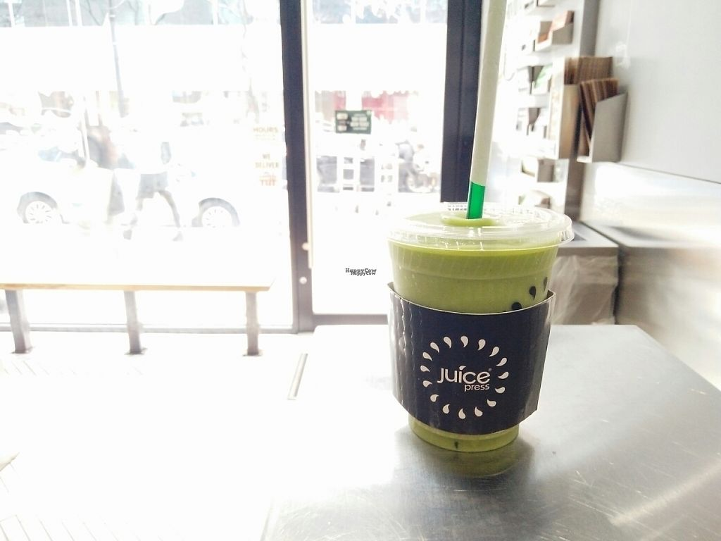 """Photo of Juice Press -  Murray St  by <a href=""""/members/profile/martinicontomate"""">martinicontomate</a> <br/>rainforest smoothie <br/> April 22, 2017  - <a href='/contact/abuse/image/77162/251082'>Report</a>"""