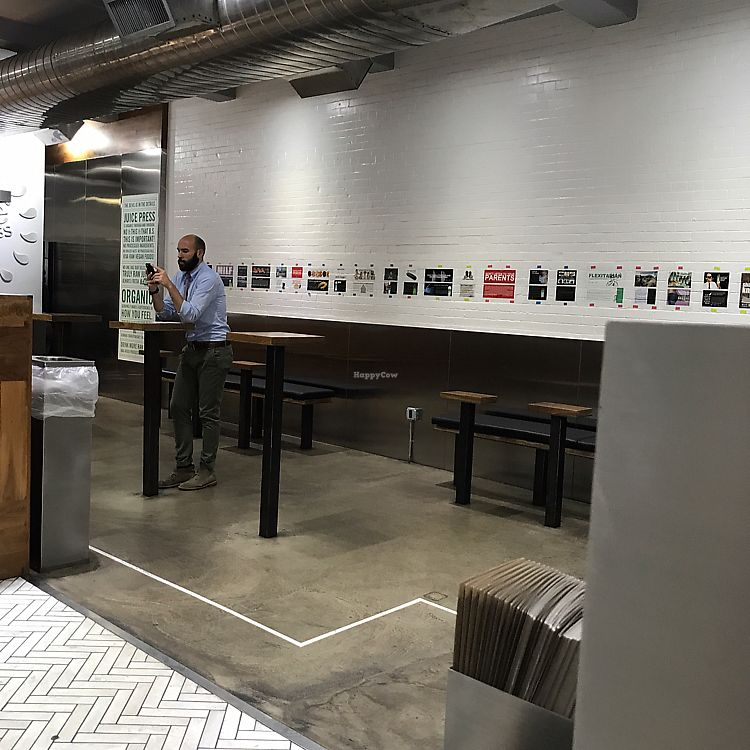 """Photo of Juice Press -  Murray St  by <a href=""""/members/profile/Miss.Saye"""">Miss.Saye</a> <br/>largest seating area <br/> June 22, 2017  - <a href='/contact/abuse/image/77162/272290'>Report</a>"""