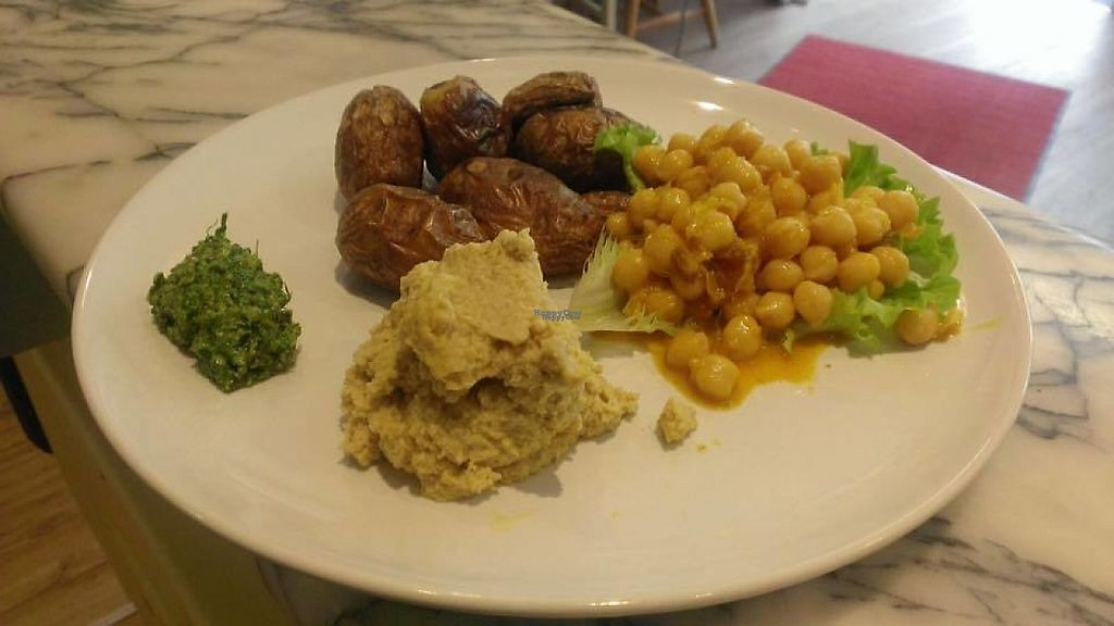 """Photo of Cafe Miteinander  by <a href=""""/members/profile/community"""">community</a> <br/>veggie platter  <br/> January 26, 2017  - <a href='/contact/abuse/image/77169/216938'>Report</a>"""