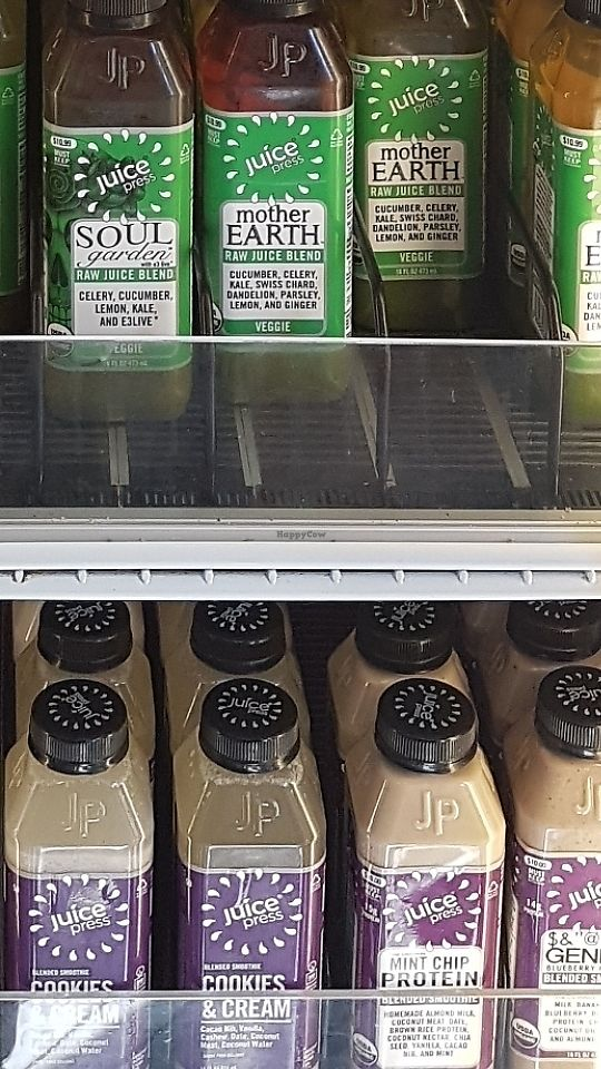 """Photo of Juice Press - W 82nd St  by <a href=""""/members/profile/unabashed"""">unabashed</a> <br/>Green juice, cookies and cream, and mint chip.  <br/> June 11, 2017  - <a href='/contact/abuse/image/77176/268106'>Report</a>"""