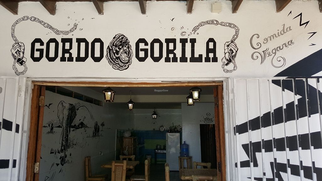 """Photo of CLOSED: Gordo Gorila  by <a href=""""/members/profile/KeepVeganMean"""">KeepVeganMean</a> <br/>416 Panamerican ave, below Hostal Runasimi.  <br/> July 27, 2016  - <a href='/contact/abuse/image/77187/162777'>Report</a>"""