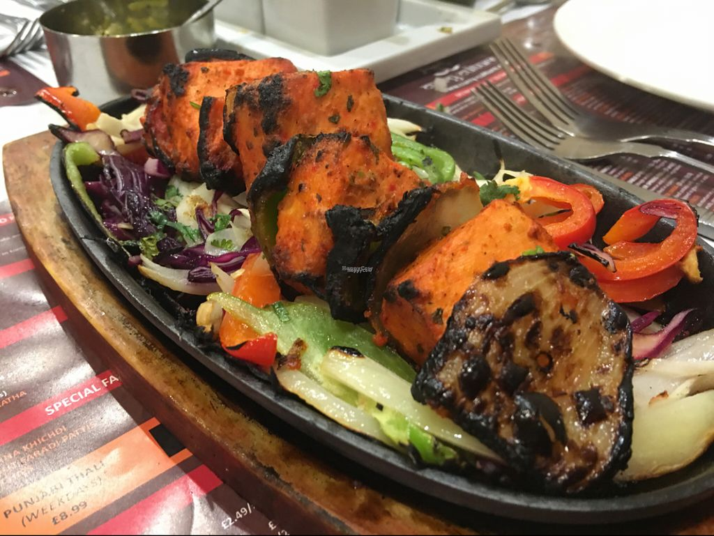 """Photo of CLOSED: Curry Culture  by <a href=""""/members/profile/Billwrelsford"""">Billwrelsford</a> <br/>the nicest tofu dish <br/> October 29, 2016  - <a href='/contact/abuse/image/77203/185292'>Report</a>"""