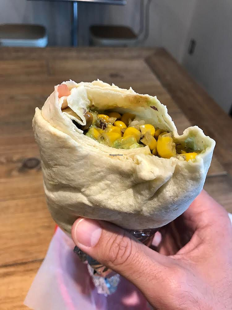 "Photo of Frijoles - Otemachi  by <a href=""/members/profile/bfrederix"">bfrederix</a> <br/>Vegetarian Grande Burrito <br/> September 19, 2017  - <a href='/contact/abuse/image/77211/305950'>Report</a>"