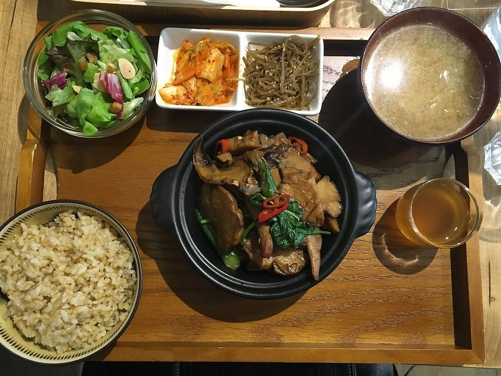 """Photo of Flourish  by <a href=""""/members/profile/agnest"""">agnest</a> <br/>set meal with mushroom dish <br/> December 31, 2016  - <a href='/contact/abuse/image/77235/206389'>Report</a>"""