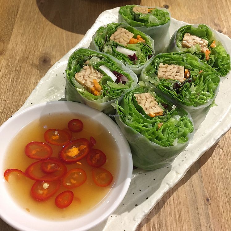 """Photo of Flourish  by <a href=""""/members/profile/HaileyPoLa"""">HaileyPoLa</a> <br/>tempeh rolls  <br/> June 26, 2017  - <a href='/contact/abuse/image/77235/273600'>Report</a>"""