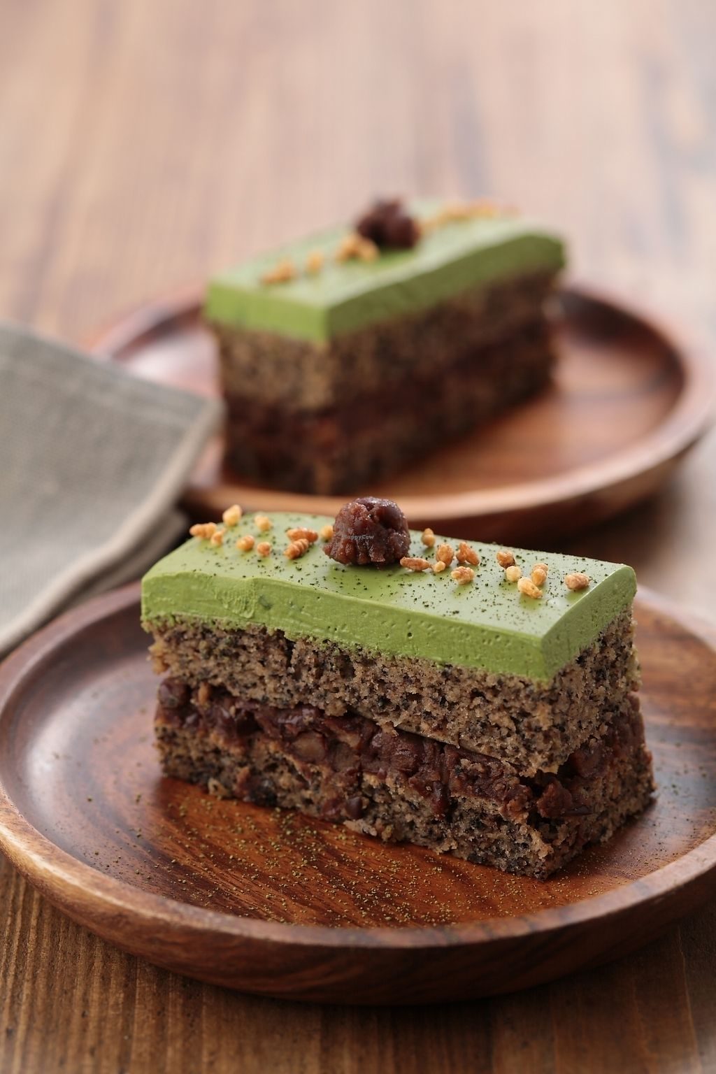 """Photo of Flourish  by <a href=""""/members/profile/AhQQQ"""">AhQQQ</a> <br/>Mocha and black sesame rice cake <br/> August 15, 2017  - <a href='/contact/abuse/image/77235/292829'>Report</a>"""