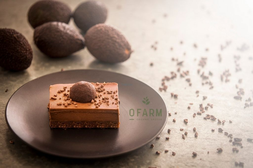 """Photo of oFarm Organic Cafe  by <a href=""""/members/profile/oFarmManly"""">oFarmManly</a> <br/>Triple Avo with Chocolate Raw Treat <br/> August 31, 2016  - <a href='/contact/abuse/image/77259/172522'>Report</a>"""