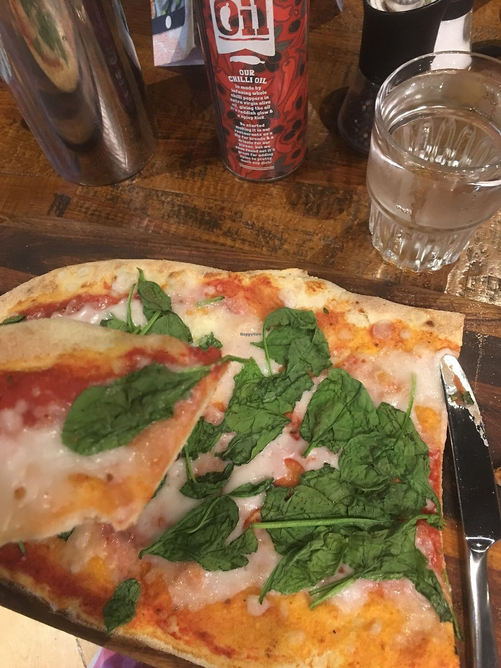 """Photo of Zizzi - Wharfside St  by <a href=""""/members/profile/sidney489"""">sidney489</a> <br/>So yummy! I ordered the vegan rustica margarita pizza! Honestly the best pizza i've ever had! It has a peta award! I ordered strawberry sorbet for dessert so yummy and creamy! I forgot to take a pic of it but it's delicious! <br/> July 6, 2017  - <a href='/contact/abuse/image/77402/277256'>Report</a>"""