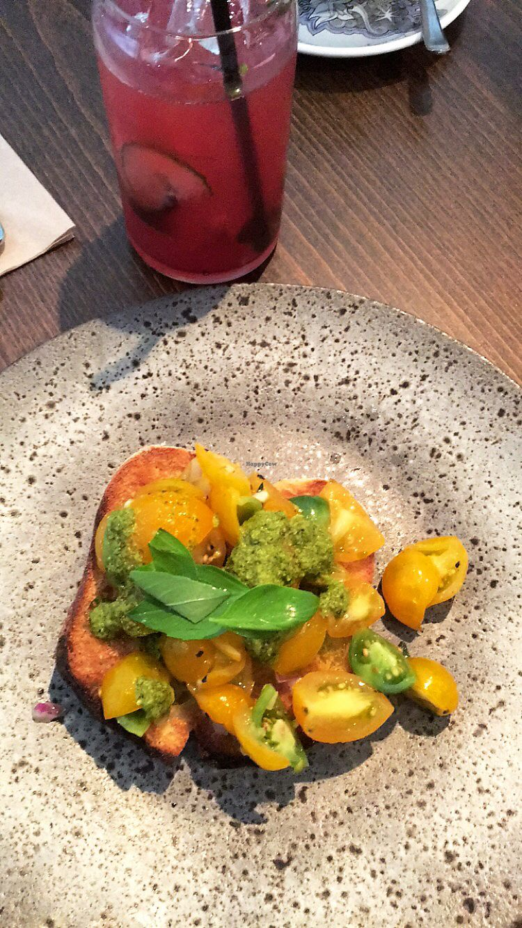"Photo of Zizzi   by <a href=""/members/profile/KimMartin"">KimMartin</a> <br/>Tomato and Basil Bruschetta  <br/> September 21, 2017  - <a href='/contact/abuse/image/77404/306717'>Report</a>"