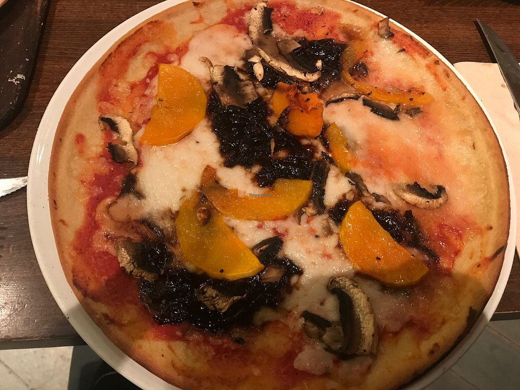 """Photo of Zizzi  by <a href=""""/members/profile/MollySmith"""">MollySmith</a> <br/>Vegan gluten-free margarita with butternut squash, caramelised balsamic onions and mushrooms ❤️ <br/> August 5, 2017  - <a href='/contact/abuse/image/77406/289181'>Report</a>"""