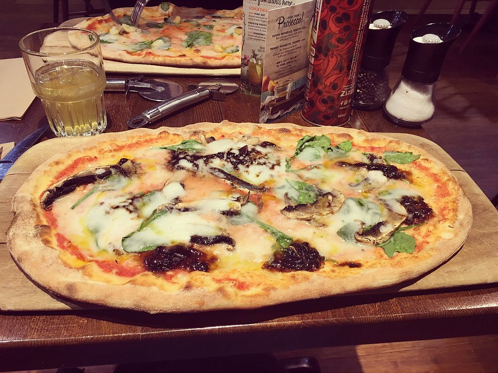 """Photo of Zizzi - Bristol Cabot Circus  by <a href=""""/members/profile/ClareKnighton"""">ClareKnighton</a> <br/>Pizza! <br/> September 29, 2017  - <a href='/contact/abuse/image/77411/309631'>Report</a>"""