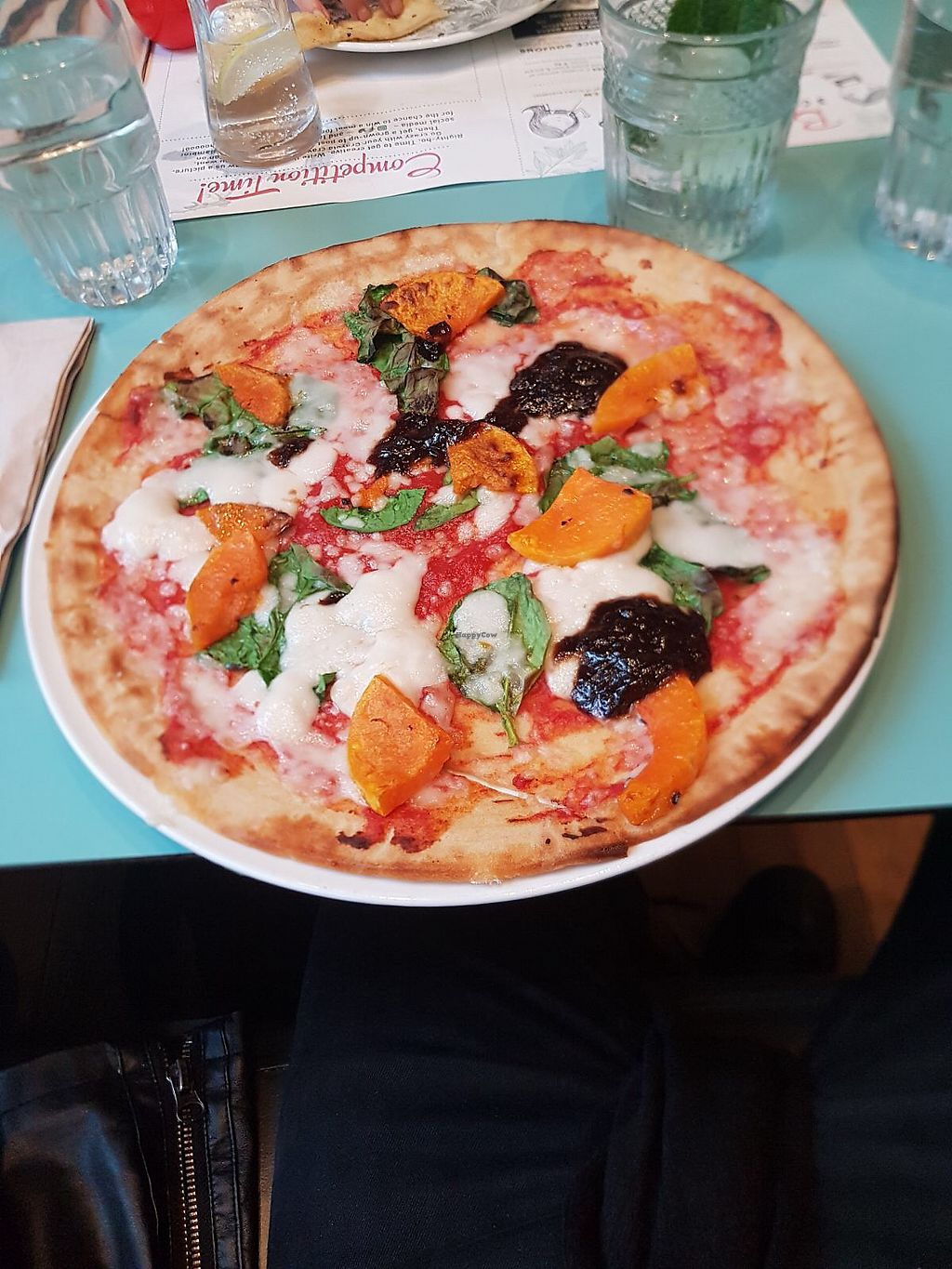 """Photo of Zizzi - Covent Garden  by <a href=""""/members/profile/lysi"""">lysi</a> <br/>Vegan, gluten free pizza <br/> April 9, 2018  - <a href='/contact/abuse/image/77479/382807'>Report</a>"""