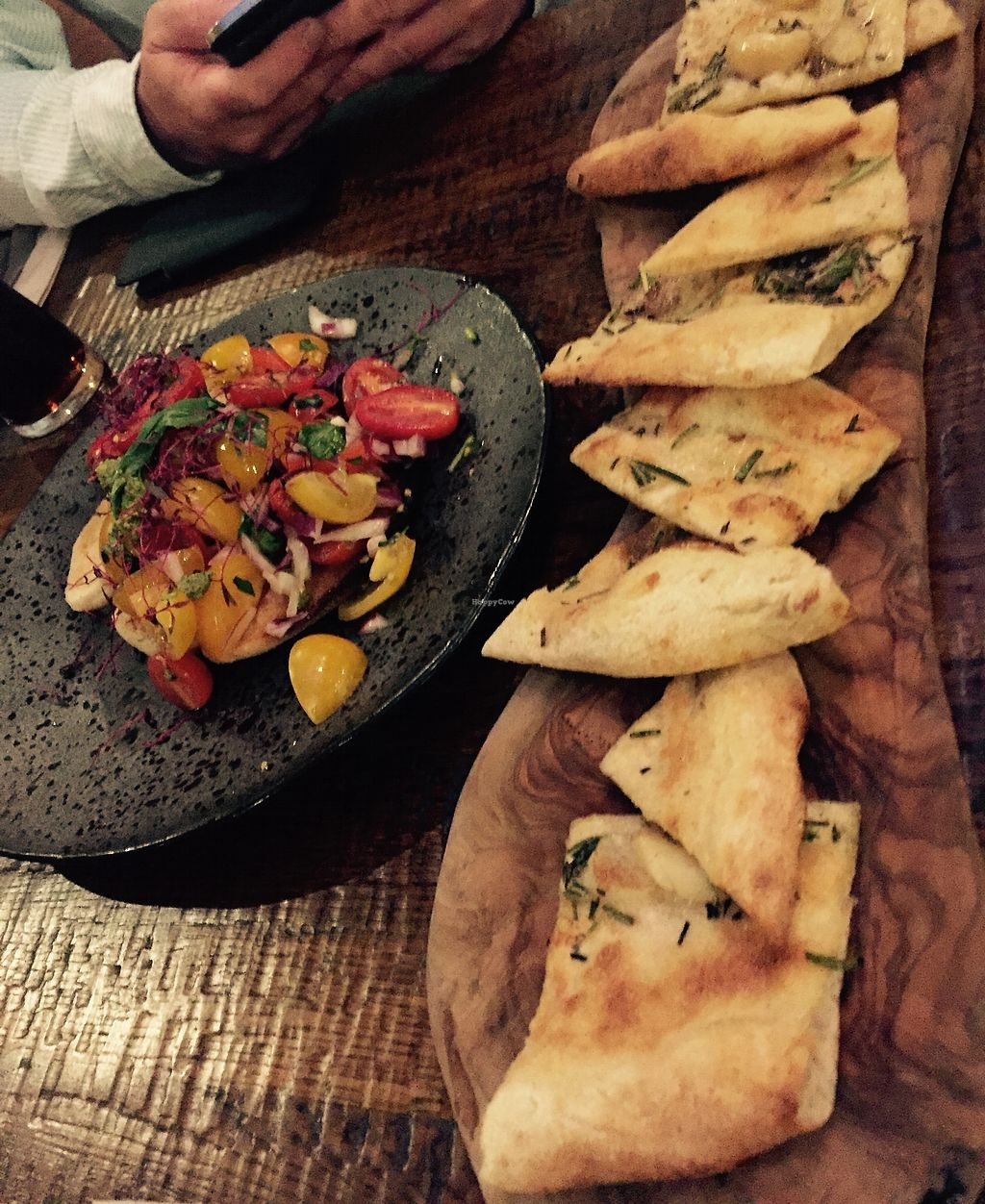 "Photo of Zizzi  by <a href=""/members/profile/TARAMCDONALD"">TARAMCDONALD</a> <br/>Vegan starters!  Garlic bread was excellent!!! <br/> August 14, 2017  - <a href='/contact/abuse/image/77510/292552'>Report</a>"
