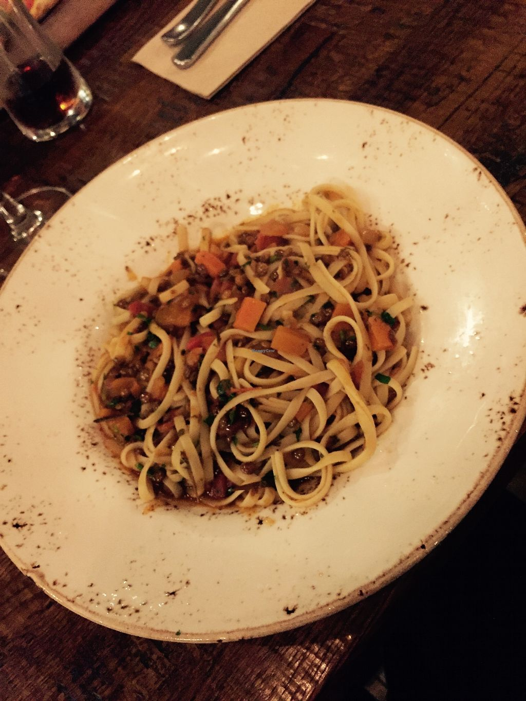 "Photo of Zizzi  by <a href=""/members/profile/TARAMCDONALD"">TARAMCDONALD</a> <br/>Lentil ragu  <br/> August 14, 2017  - <a href='/contact/abuse/image/77510/292554'>Report</a>"
