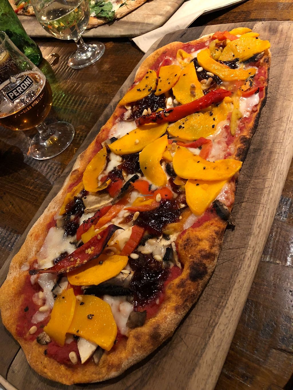 "Photo of Zizzi  by <a href=""/members/profile/TARAMCDONALD"">TARAMCDONALD</a> <br/>Vegan pizza! <br/> March 19, 2018  - <a href='/contact/abuse/image/77510/373094'>Report</a>"