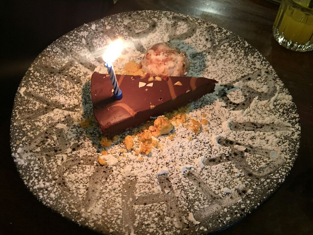 """Photo of Zizzi - Trafford Centre  by <a href=""""/members/profile/LaurenleaA"""">LaurenleaA</a> <br/>vegan dessert. delicious!! (sons birthday) <br/> July 31, 2017  - <a href='/contact/abuse/image/77516/287252'>Report</a>"""