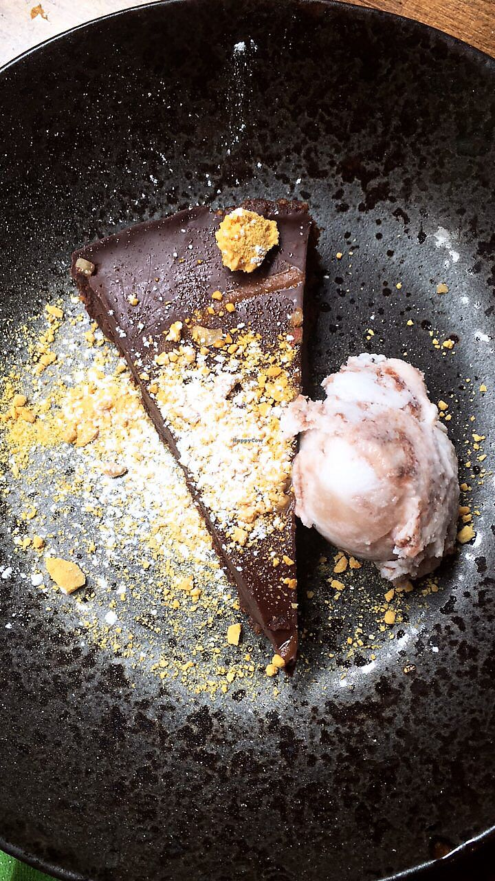 """Photo of Zizzi  by <a href=""""/members/profile/EdenGasson"""">EdenGasson</a> <br/>chocolate & praline torte  <br/> July 16, 2017  - <a href='/contact/abuse/image/77517/281115'>Report</a>"""