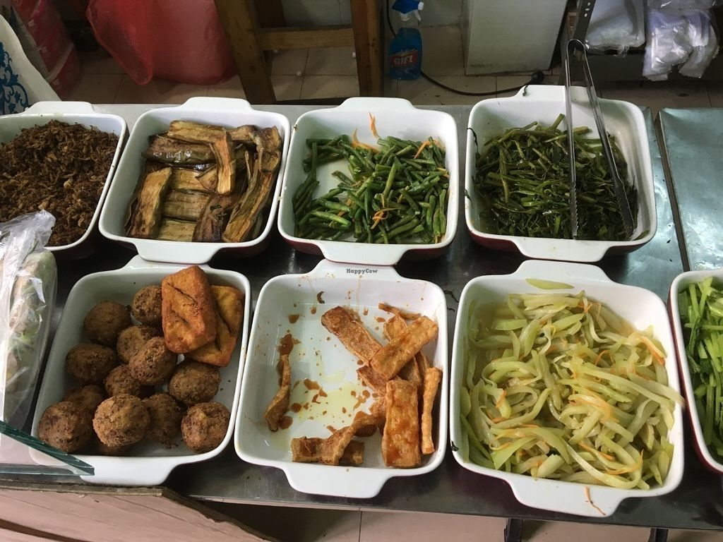 """Photo of A Di Da Phat  by <a href=""""/members/profile/HollyCow"""">HollyCow</a> <br/>Choices of vegetables, tofu, pineapple,  <br/> July 30, 2016  - <a href='/contact/abuse/image/77535/163351'>Report</a>"""