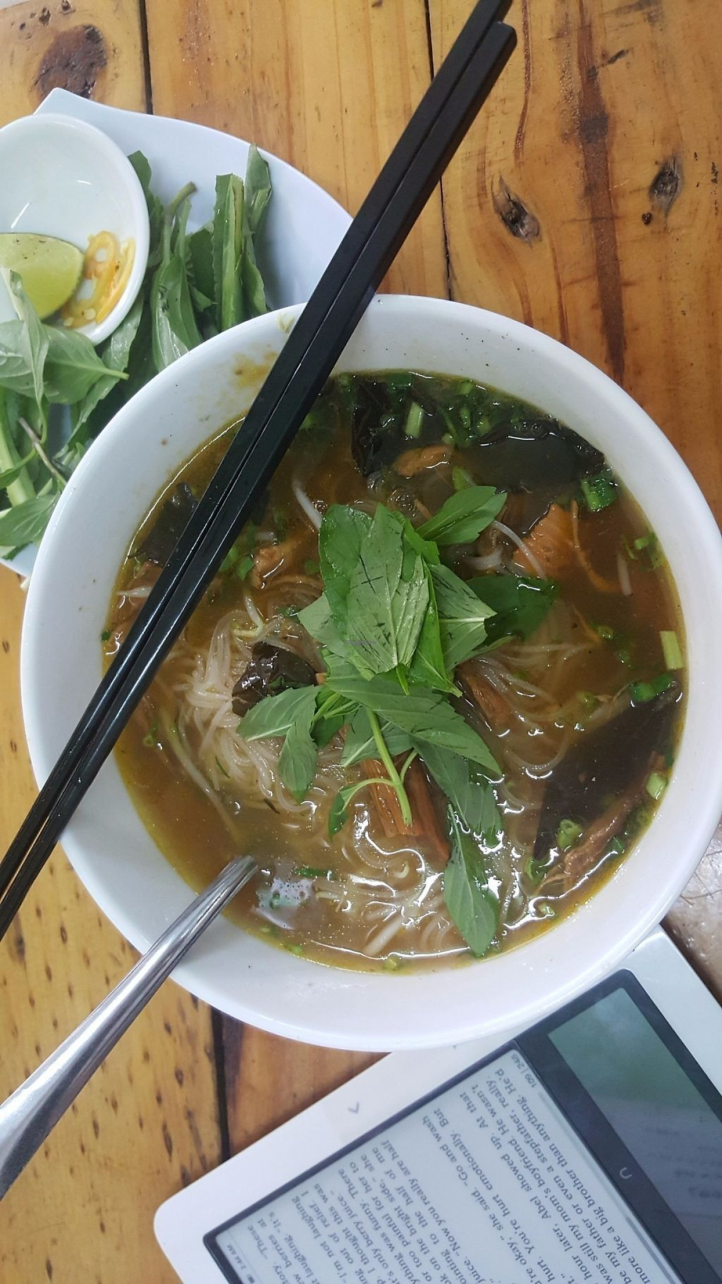 """Photo of A Di Da Phat  by <a href=""""/members/profile/Refinnej"""">Refinnej</a> <br/>Thursdays soup / beef stew with vermicelli (bo kho) <br/> June 3, 2017  - <a href='/contact/abuse/image/77535/265517'>Report</a>"""