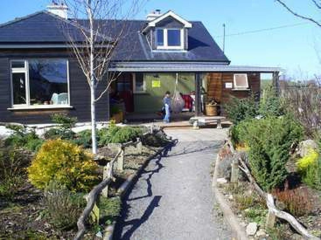 """Photo of Mountain View Tipperary  by <a href=""""/members/profile/Irish_Eve"""">Irish_Eve</a> <br/>The garden path up to the house. There's wifi on the veranda (covered porch) and many armchairs to relax in <br/> November 11, 2016  - <a href='/contact/abuse/image/77543/188728'>Report</a>"""