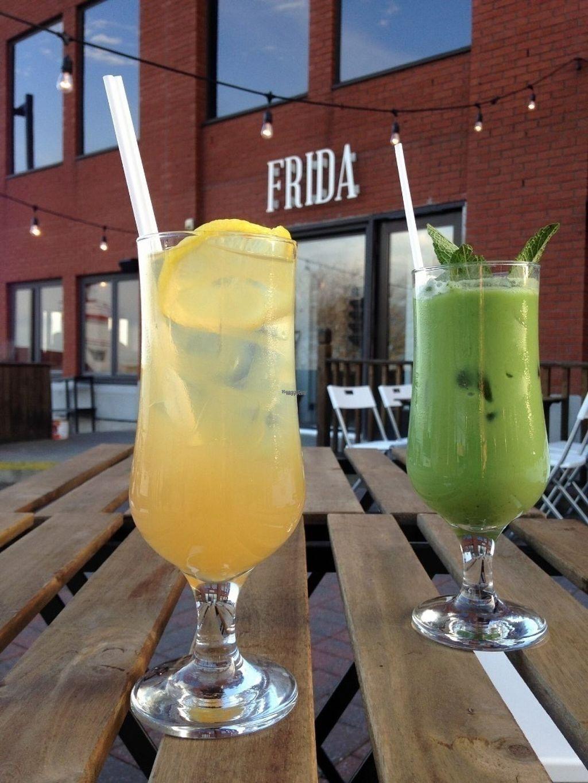 "Photo of Cafe Frida  by <a href=""/members/profile/GabrielleCossette"">GabrielleCossette</a> <br/>Matcha latté coco & menthe Yerba matté  <br/> August 11, 2016  - <a href='/contact/abuse/image/77558/167718'>Report</a>"