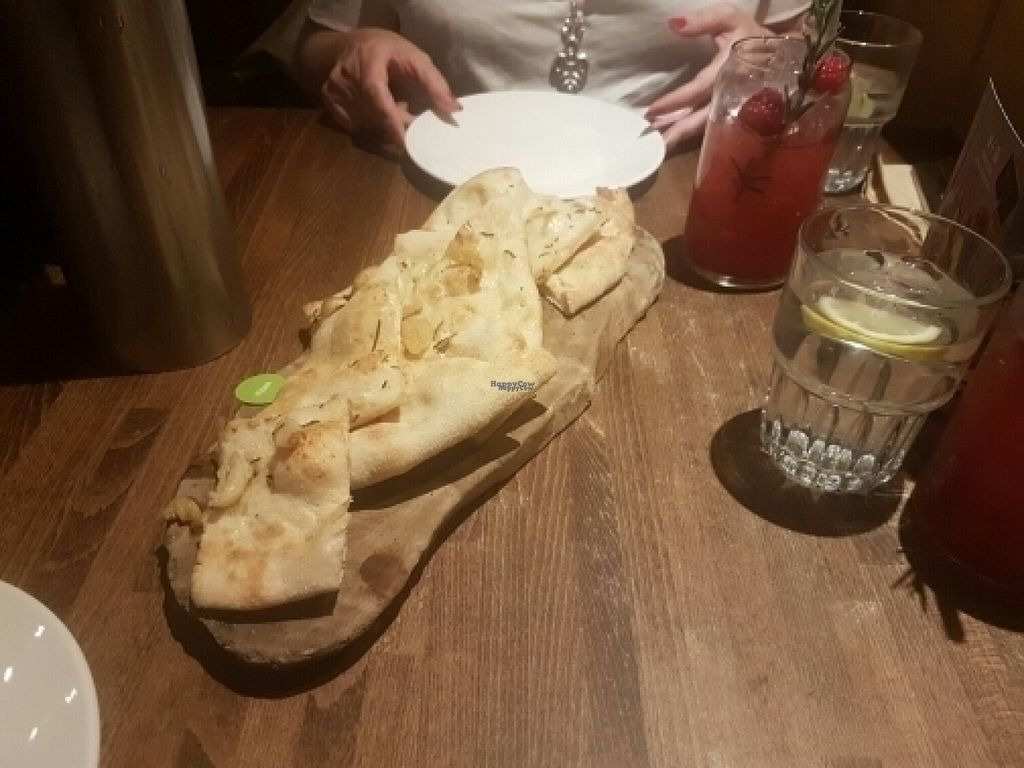 "Photo of Zizzi  by <a href=""/members/profile/JodieRodgers"">JodieRodgers</a> <br/>Vegan garlic bread <br/> August 15, 2016  - <a href='/contact/abuse/image/77561/168992'>Report</a>"