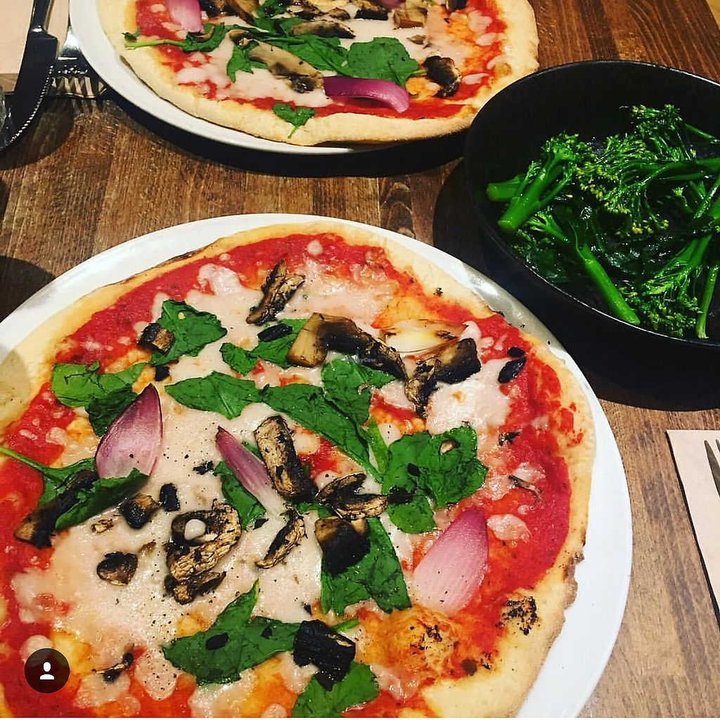 "Photo of Zizzi  by <a href=""/members/profile/edajoir"">edajoir</a> <br/>VEGAN PIZZA GAVE ME LIFE <br/> September 16, 2017  - <a href='/contact/abuse/image/77561/305010'>Report</a>"