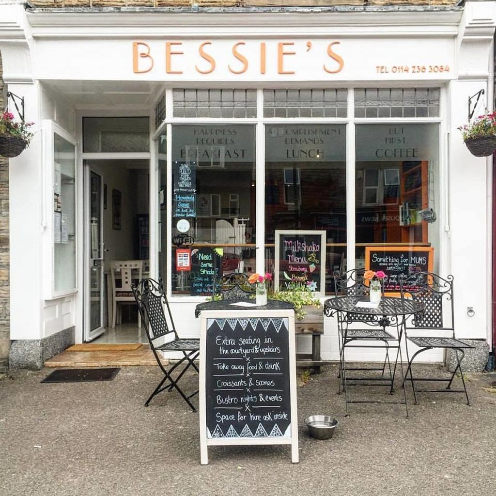 """Photo of Bessie's Cafe  by <a href=""""/members/profile/Meaks"""">Meaks</a> <br/>Bessie's Cafe Exterior <br/> July 30, 2016  - <a href='/contact/abuse/image/77608/163546'>Report</a>"""