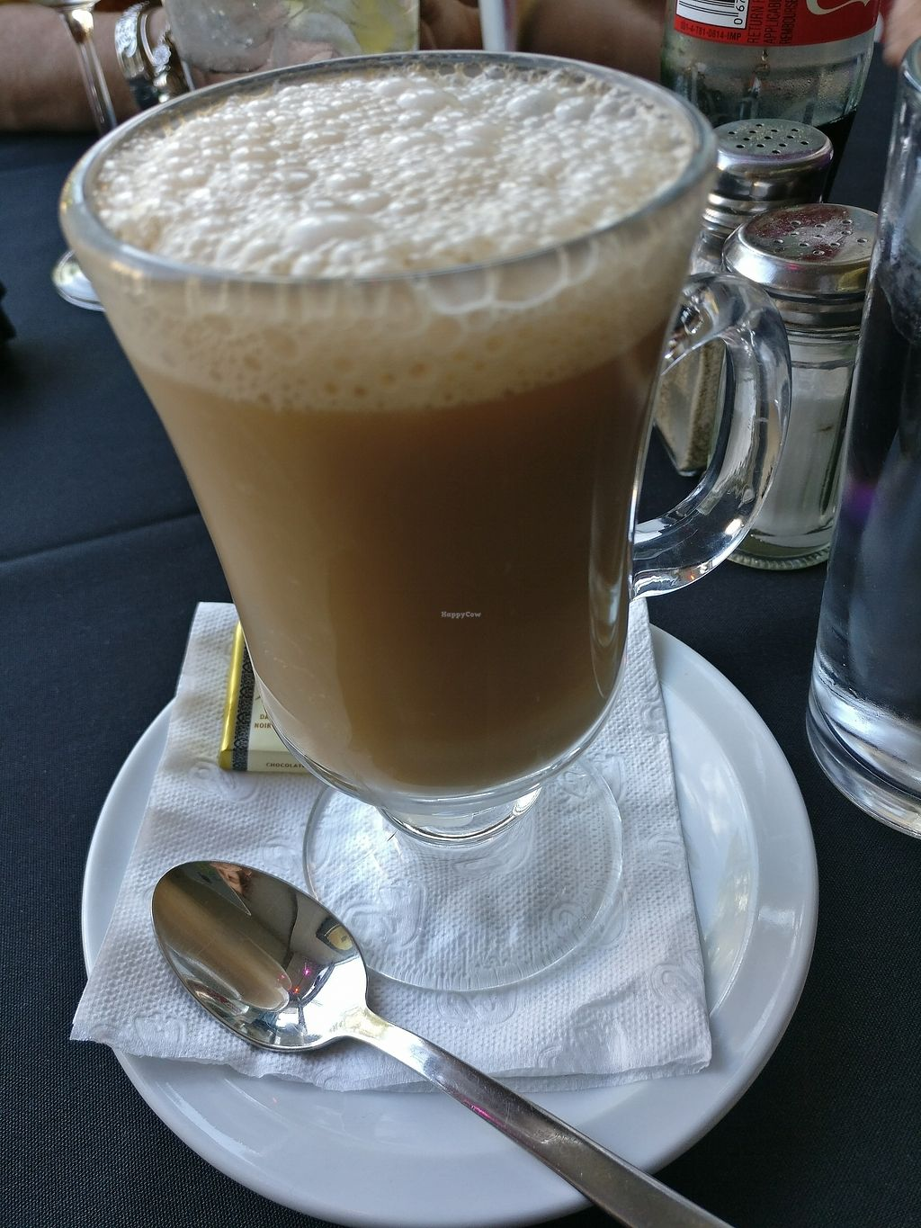 "Photo of Marwan's Global Bistro  by <a href=""/members/profile/cdnvegan"">cdnvegan</a> <br/>Chai Latte with Almond Milk <br/> July 17, 2017  - <a href='/contact/abuse/image/77610/281529'>Report</a>"