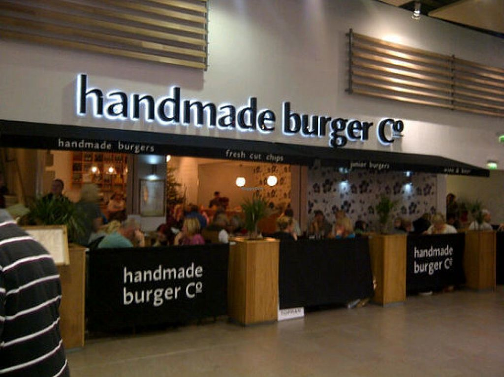 "Photo of Handmade Burger Company - Meadowhall  by <a href=""/members/profile/Meaks"">Meaks</a> <br/>Exterior <br/> July 30, 2016  - <a href='/contact/abuse/image/77647/163533'>Report</a>"