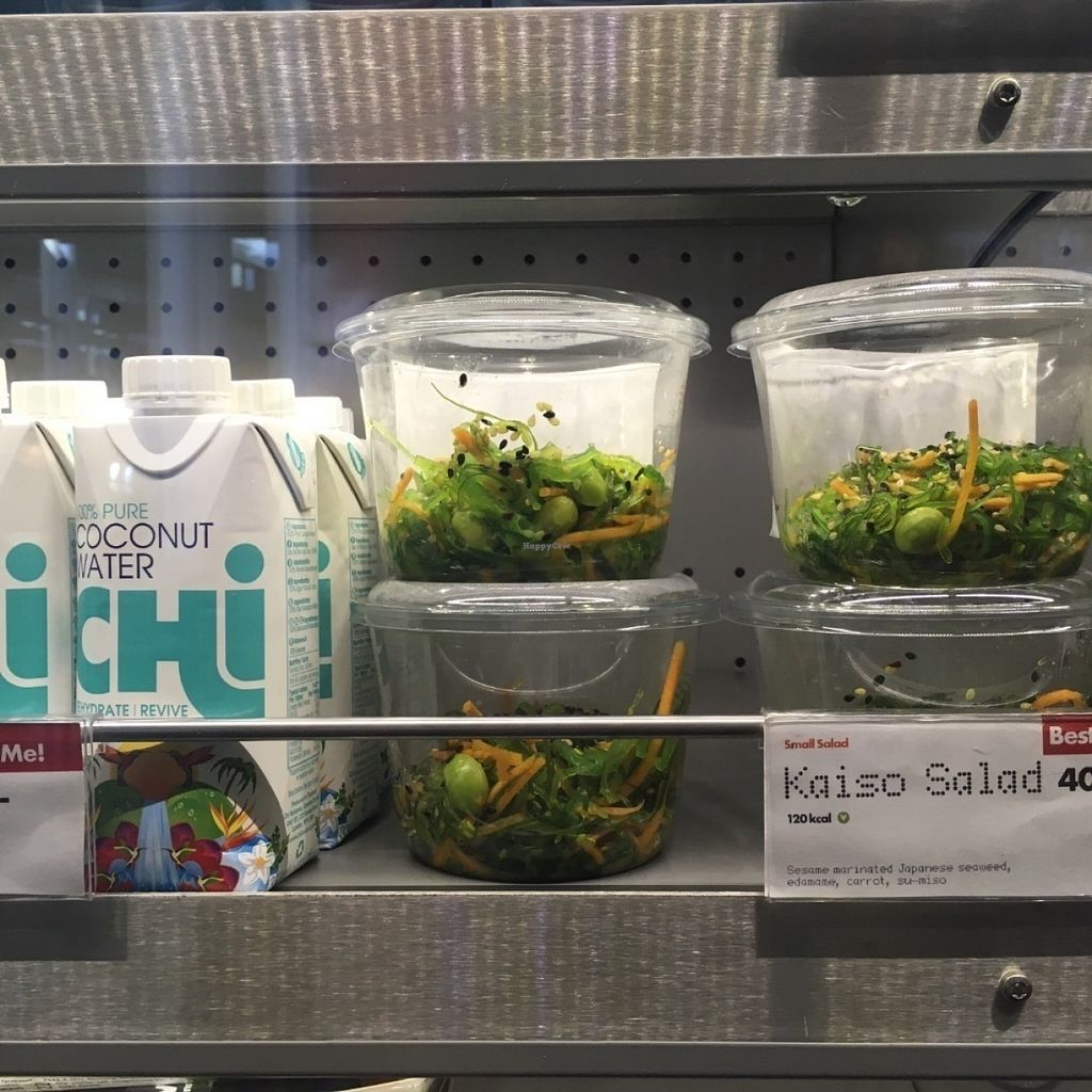"Photo of Yo Sushi - Airport  by <a href=""/members/profile/veganmom"">veganmom</a> <br/>Vegan seaweed salad <br/> July 30, 2016  - <a href='/contact/abuse/image/77649/163549'>Report</a>"