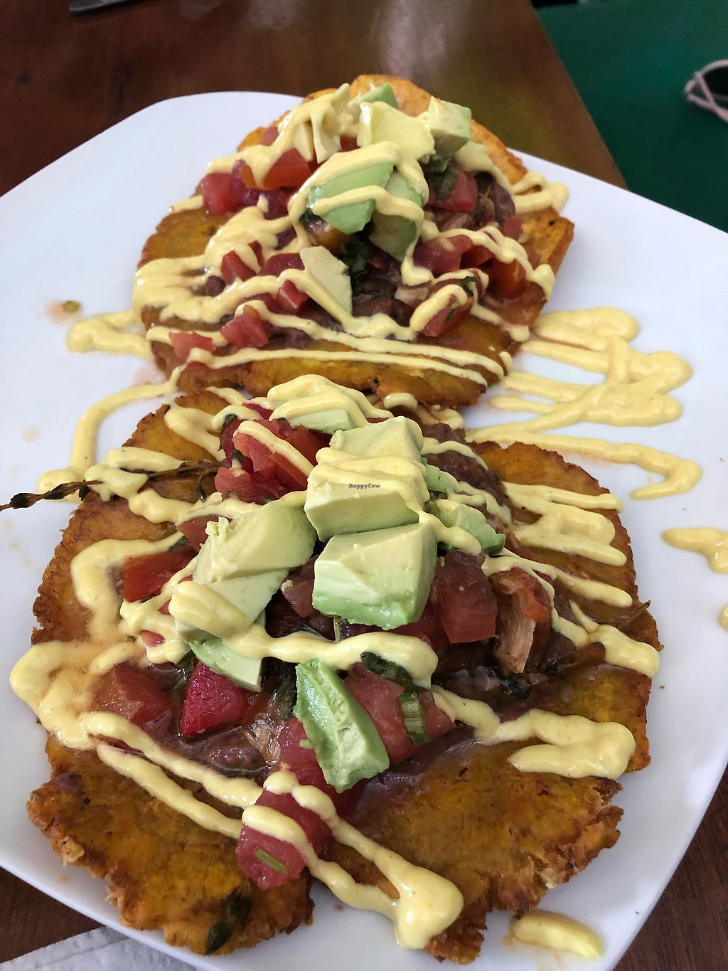 """Photo of La Esquina Vegetariana  by <a href=""""/members/profile/AlbertoXLush"""">AlbertoXLush</a> <br/>Patacones rellenos  <br/> March 4, 2018  - <a href='/contact/abuse/image/77658/366814'>Report</a>"""