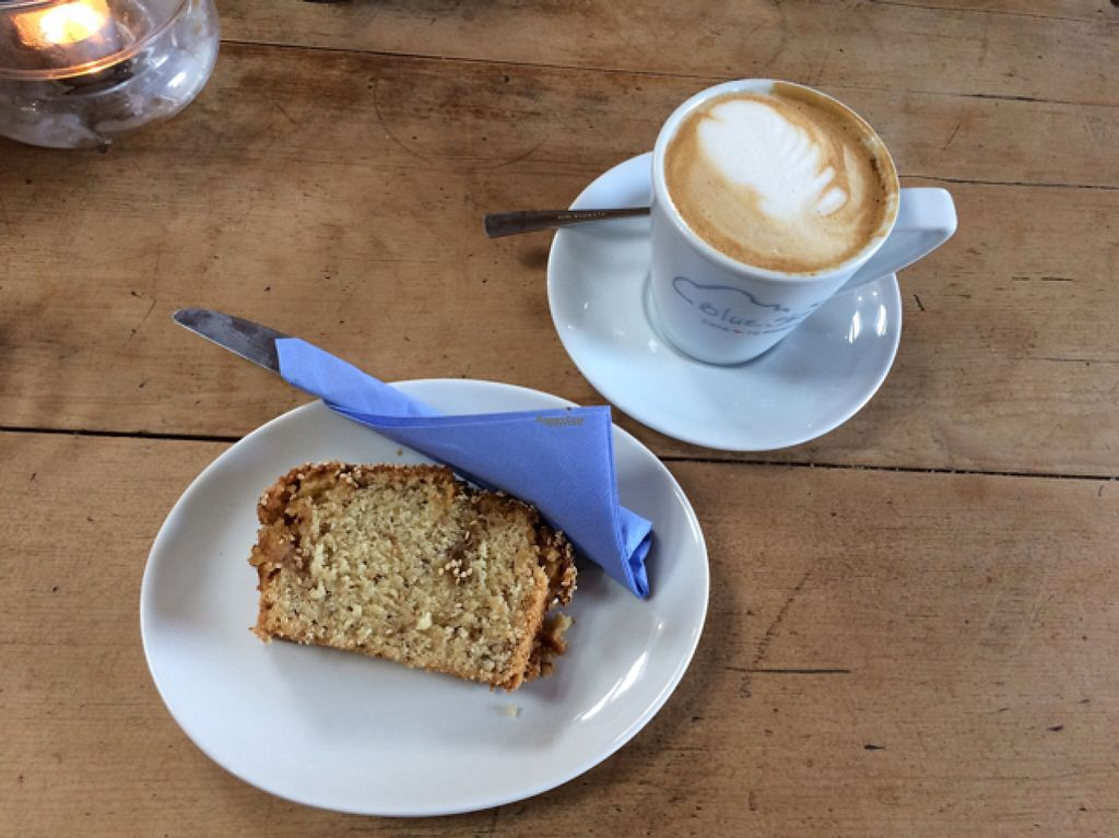 """Photo of Blue Sky Cafe  by <a href=""""/members/profile/LittleAliceFell"""">LittleAliceFell</a> <br/>sesame loaf and soya latte <br/> November 2, 2016  - <a href='/contact/abuse/image/77671/185967'>Report</a>"""