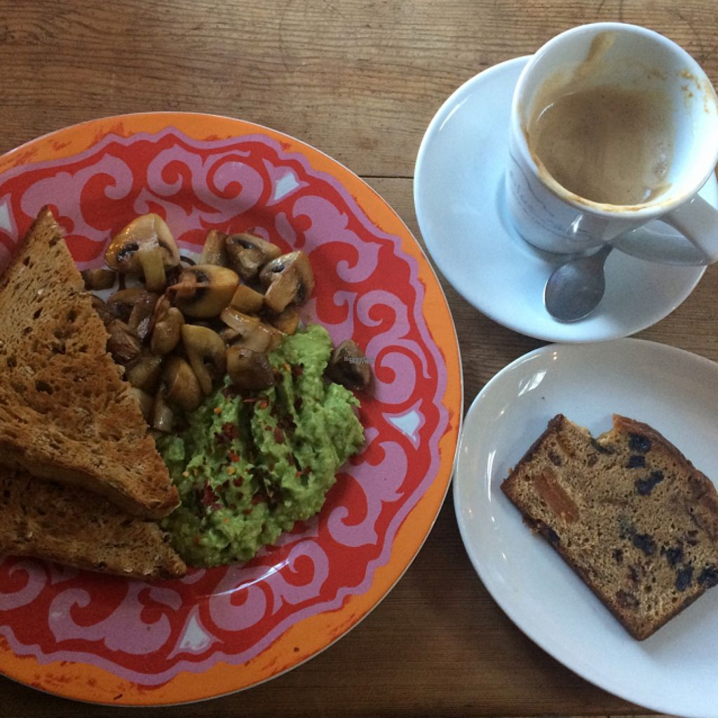 """Photo of Blue Sky Cafe  by <a href=""""/members/profile/LittleAliceFell"""">LittleAliceFell</a> <br/>Avocado toast & vegan bars brith <br/> November 2, 2016  - <a href='/contact/abuse/image/77671/185970'>Report</a>"""