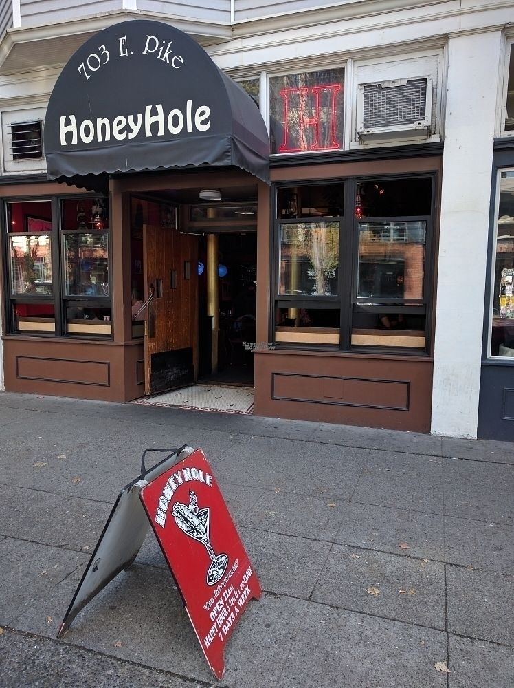 """Photo of Honeyhole Sandwiches  by <a href=""""/members/profile/The%20Hungry%20Vegan"""">The Hungry Vegan</a> <br/>outside <br/> September 18, 2016  - <a href='/contact/abuse/image/77679/176590'>Report</a>"""