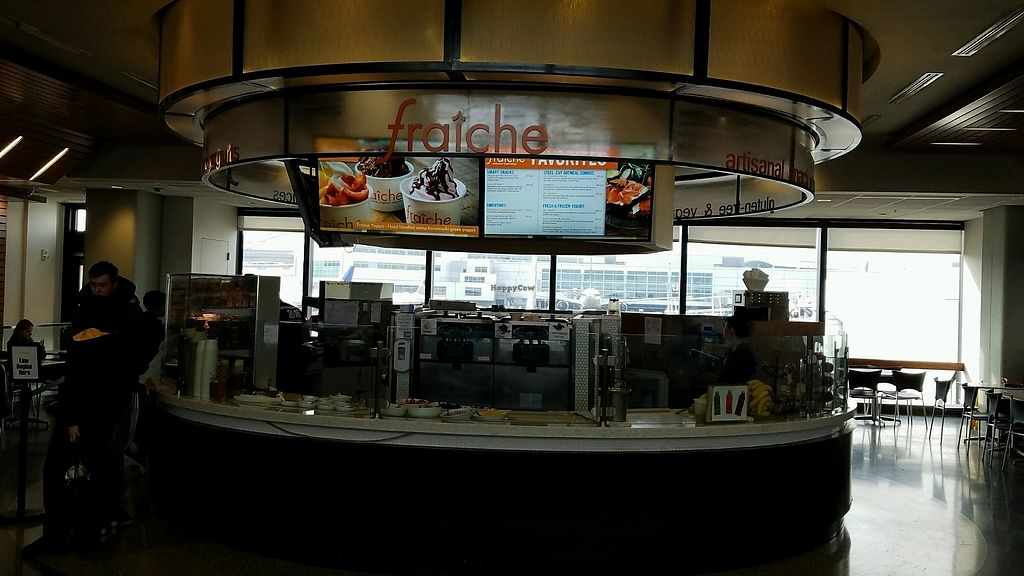"Photo of Fraiche Yogurt - Airport  by <a href=""/members/profile/eric"">eric</a> <br/>next to gate 81 <br/> December 31, 2017  - <a href='/contact/abuse/image/77694/341378'>Report</a>"
