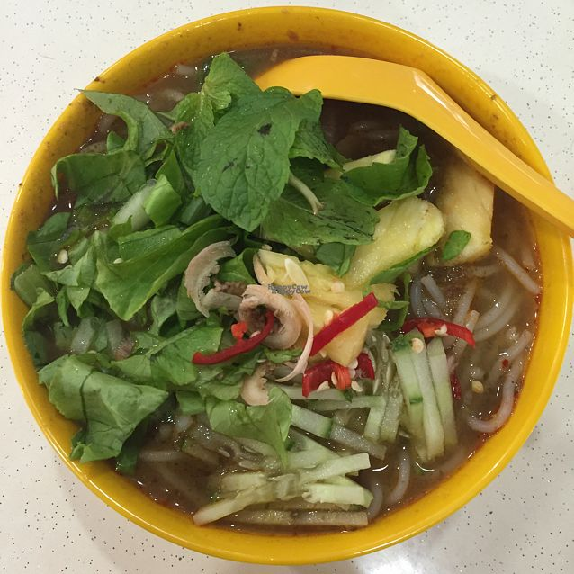 """Photo of CLOSED: Jian Kang Su Shi - Healthy Vegetarian  by <a href=""""/members/profile/claralwj"""">claralwj</a> <br/>Penang laksa - $3 <br/> September 25, 2016  - <a href='/contact/abuse/image/77711/177820'>Report</a>"""
