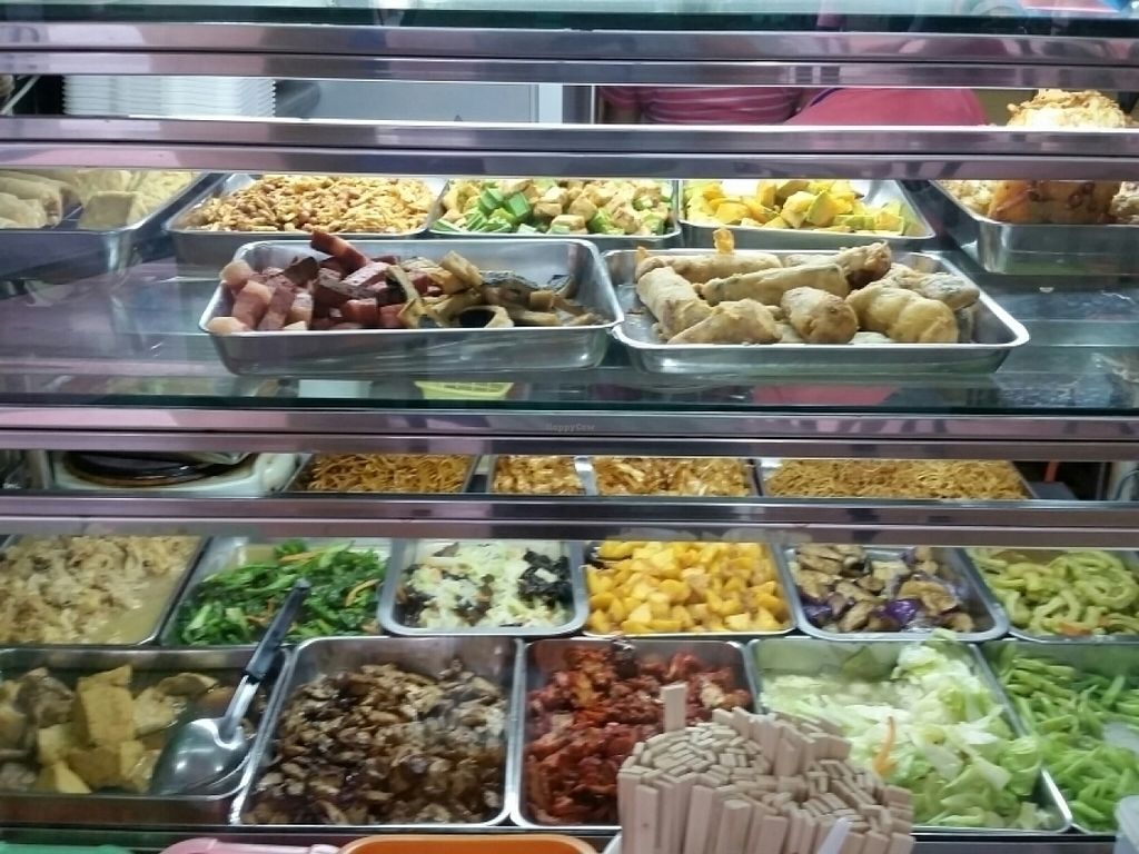 """Photo of Miao Xin Vegetarian - Yuhua Village  by <a href=""""/members/profile/JimmySeah"""">JimmySeah</a> <br/>buffet spread <br/> July 31, 2016  - <a href='/contact/abuse/image/77712/163995'>Report</a>"""