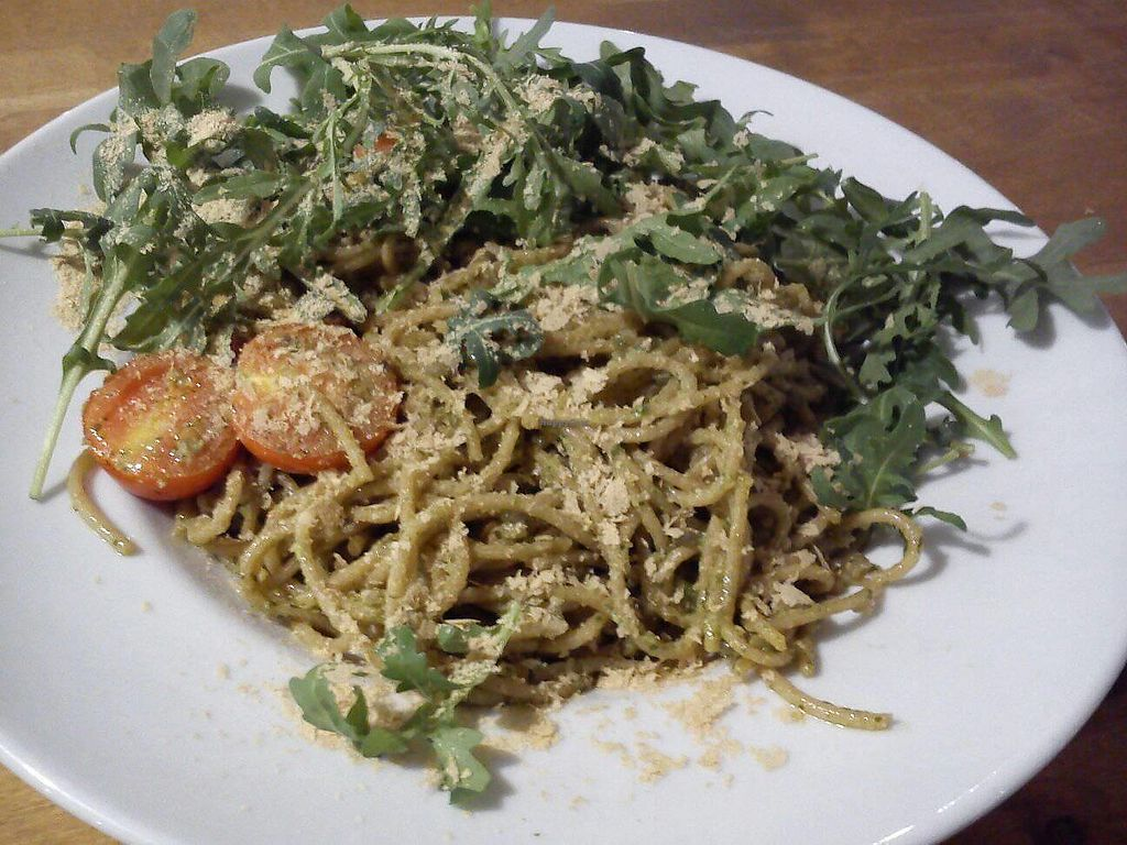 "Photo of Avocado Vegan Bistro - Przymorze  by <a href=""/members/profile/FernandoMoreira"">FernandoMoreira</a> <br/>whole grain pasta with pesto <br/> October 16, 2017  - <a href='/contact/abuse/image/77737/315940'>Report</a>"