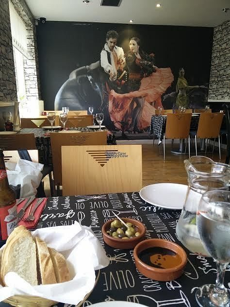 """Photo of La Rambla   by <a href=""""/members/profile/Agadooska"""">Agadooska</a> <br/>Complimentary olives, bread and fruit infused water <br/> September 1, 2016  - <a href='/contact/abuse/image/77757/172789'>Report</a>"""