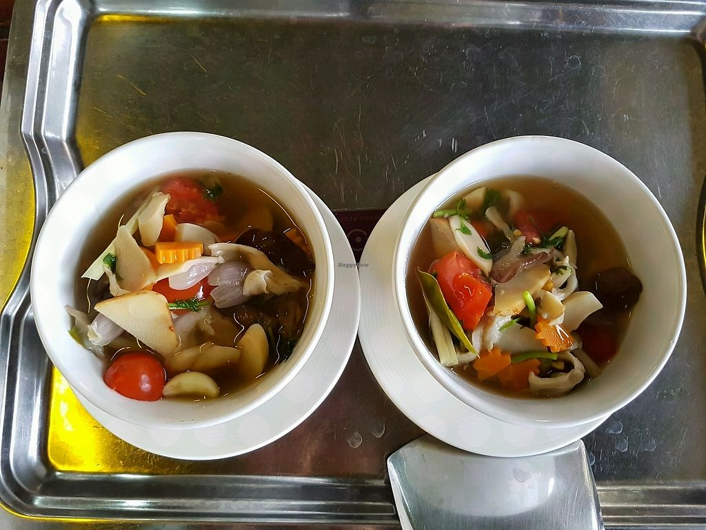 "Photo of Thai Muang Vegetarian Cooking Class  by <a href=""/members/profile/Wanderingvegan"">Wanderingvegan</a> <br/>Vegan Tom yum soup made 11.04.18 <br/> April 13, 2018  - <a href='/contact/abuse/image/77771/384987'>Report</a>"